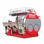بویلر (دیگ) بخار دو کوره 18000 کیلوگرم بر ساعت آب بند مدل spt-18000