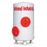 منبع کویلی فولادی 200 لیتری آب بند مدل AB.HT.2