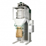 دستگاه پرکن اتوماتیک کیسه مواد گرانولی تک هاپر 25-10 کیلوگرمی استیل دارا الکترونیک مدل MHS-100-GV