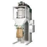 دستگاه پرکن اتوماتیک کیسه مواد پودری تک هاپر 50-25 کیلوگرمی استیل دارا الکترونیک مدل MHS-100-D