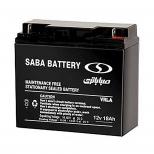 باتری 12 ولت 18 آمپر صبا باتری