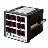 مولتی متر سه فاز 6 نمایشگر برنا الکترونیک