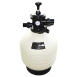 فیلتر شنی تصفیه آب با شیر چند حالته 14.3 مترمکعب بر ساعت ایمکس مدل MFV24