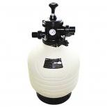 فیلتر شنی تصفیه آب با شیر چند حالته 30.9 مترمکعب بر ساعت ایمکس مدل MFV35