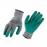 دستکش اسپان ضد برش زانکو با پوشش لاتکس کف چروک مدل Z-SG15L