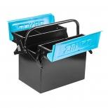 جعبه ابزار فلزی دو طبقه 40 سانت بلند اتومات زانکو مدل Z-MTB 422